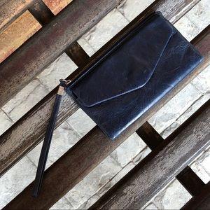 Hobo International Leather Lanie Wristlet Wallet